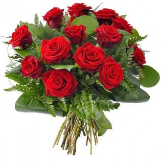 Bukiet Dla Ukochanej 15 róż