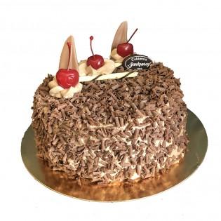 Tort Czekoladowo Wiśniowy 1kg